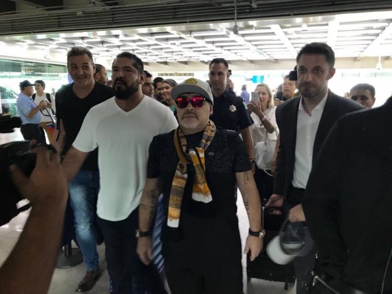 ¿Cuándo debutará Maradona con Dorados?