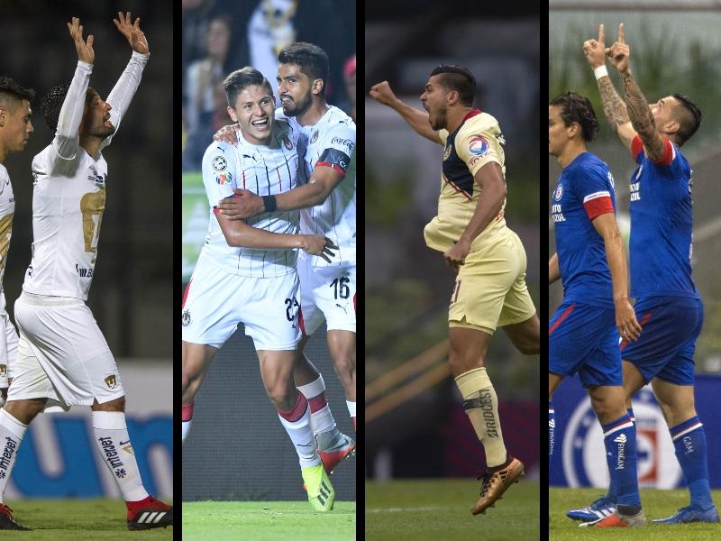 ¡Los 4 'grandes' en octavos de la Copa MX!