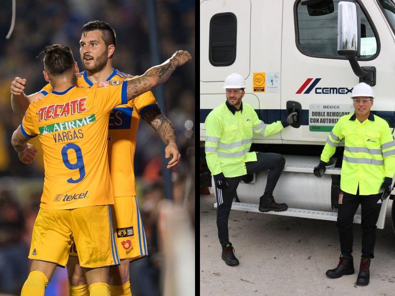 Gignac y Vargas, de futbolistas a traileros