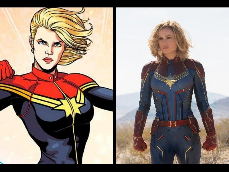 ¡OMG! Revelan nuevas imágenes de Capitana Marvel