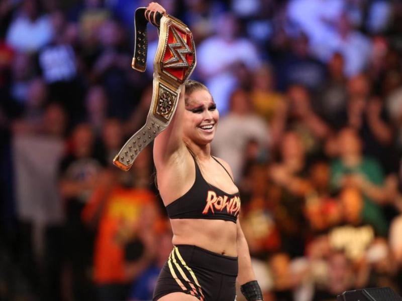 ¡Ronda Rousey viene a México!