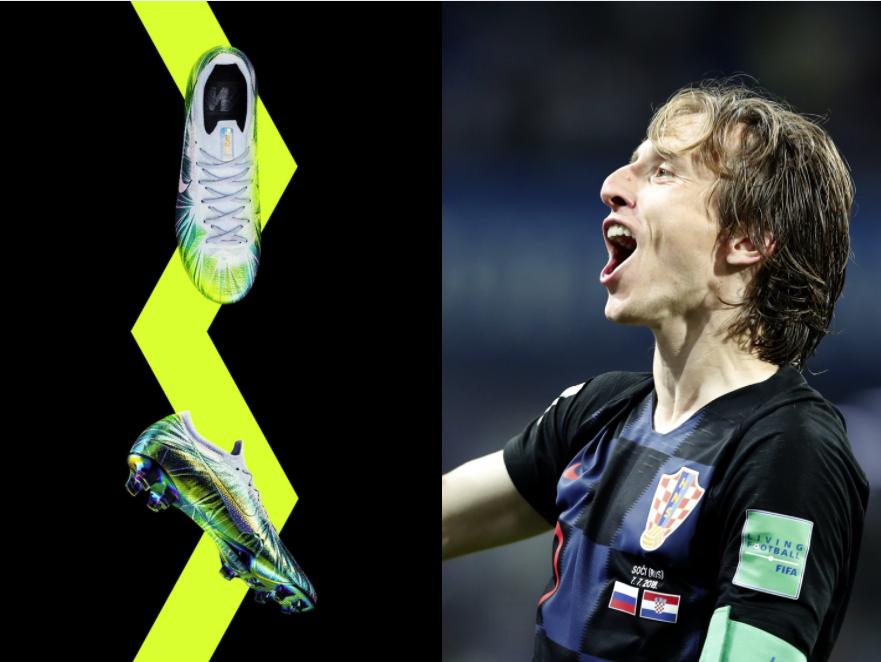 Los botines especiales para Modric por ganar The Best