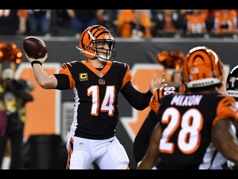 Andy Dalton comanda la victoria de los Bengals