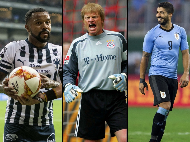 Las 5 mordidas del futbol