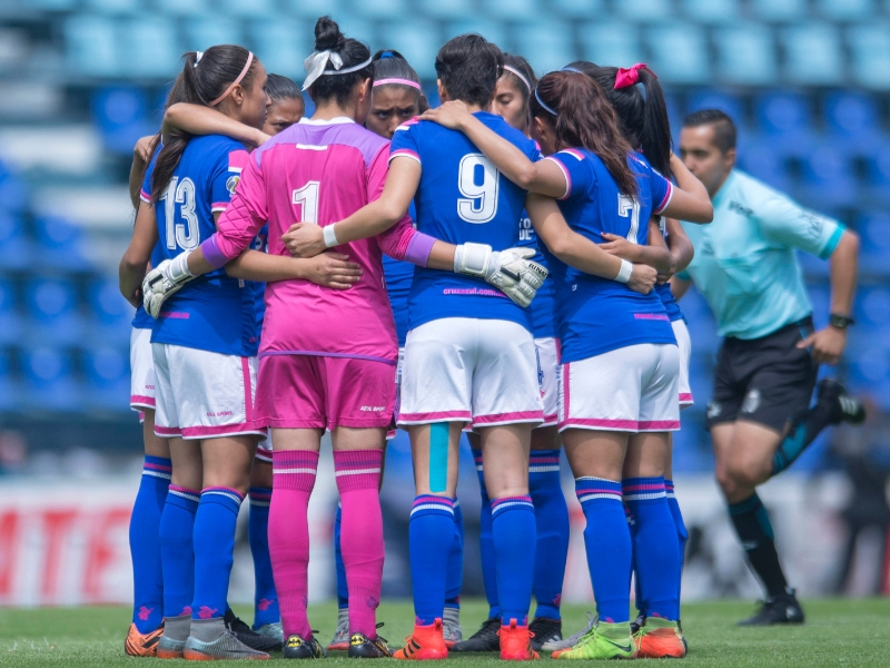 Cruz Azul femenil no da una