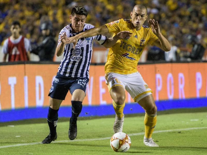 Tigres y Rayados empatan en clásico regio