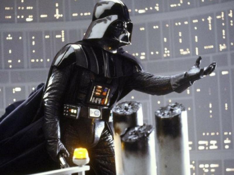 Darth Vader no volverá a firmar autógrafos