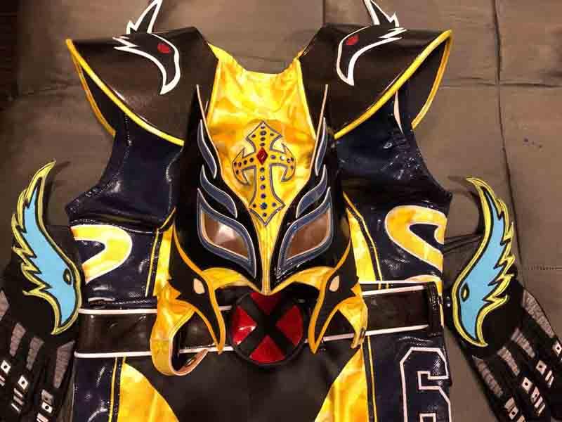 Rey Mysterio exhibirá sus equipos en Expo Museo Lucha Libre