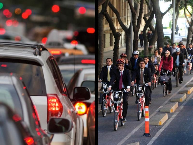 Los miles que ahorrarías si cambiaras el auto por la bici
