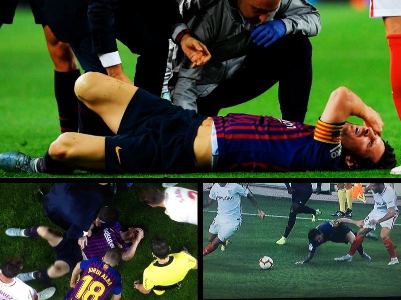 Messi se pierde el Clásico Español