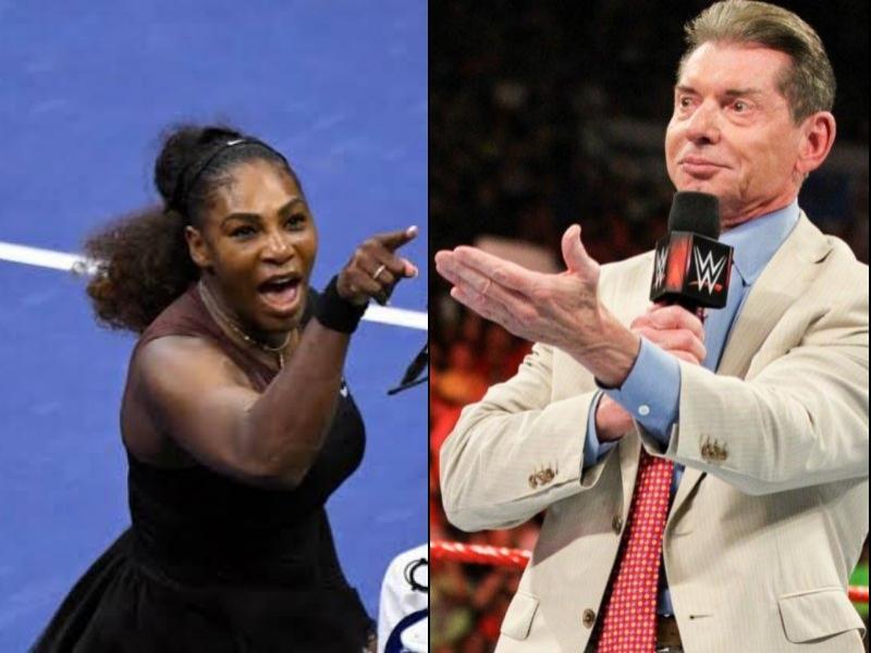 ¿Serena Williams a la WWE?