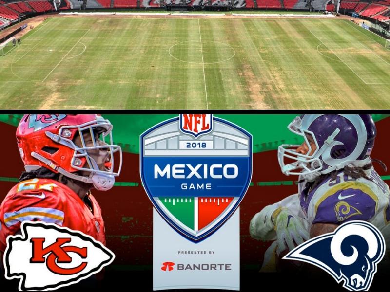 Estadio Azteca prende las alarmas de la NFL