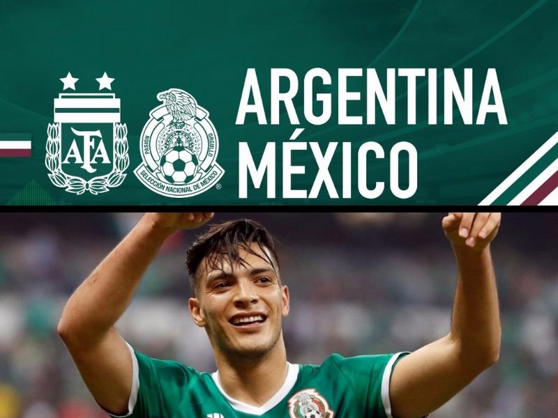 OFICIAL. México enfrentará a Argentina