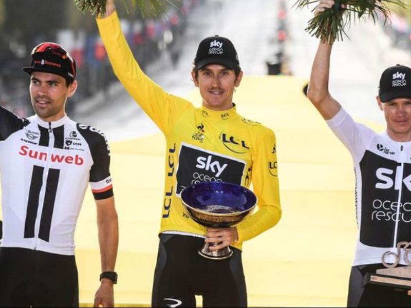 Roban el trofeo de campeón de Tour de France