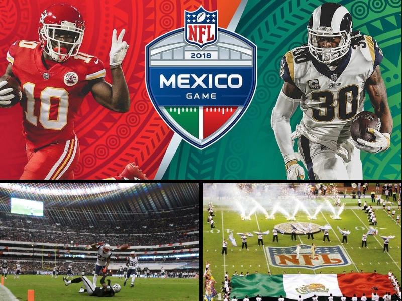 Últimos boletos para el Chiefs vs Rams en el Azteca