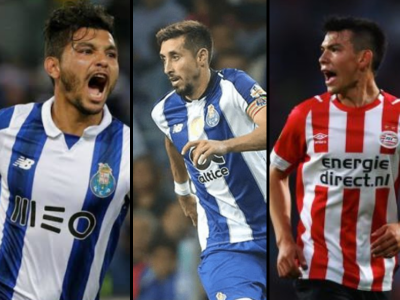 Video: Los goles mexicanos en Champions League