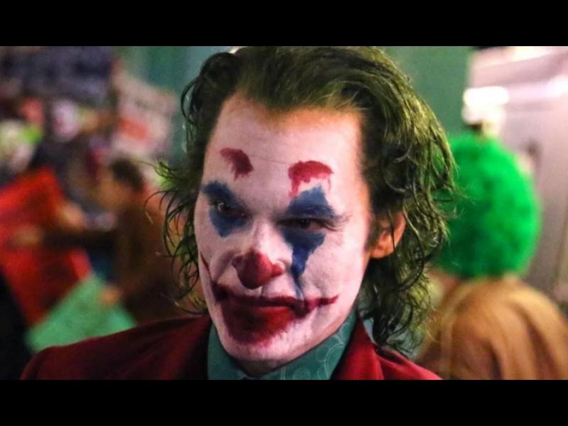 Filtran escena y logo de Joker