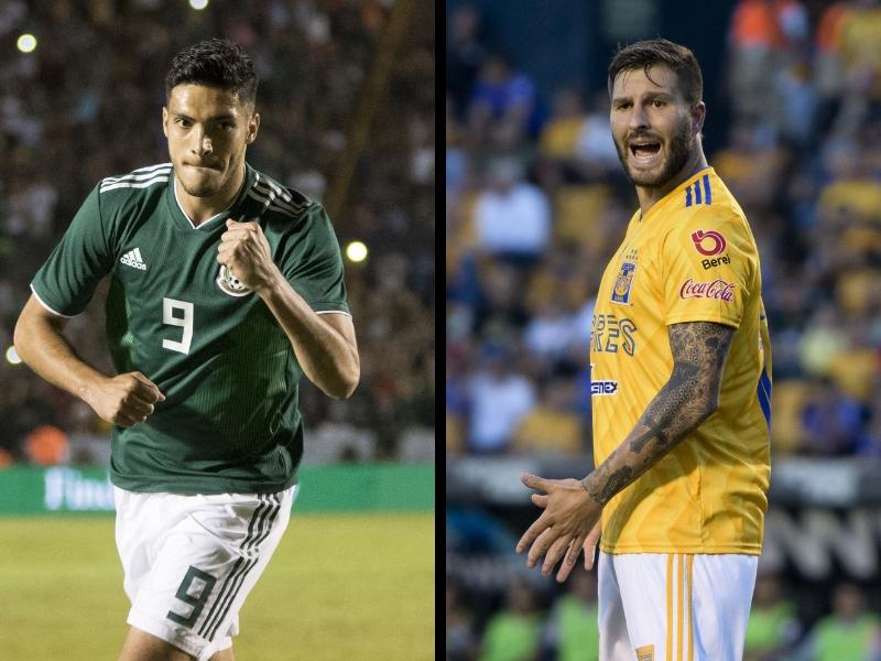 Tigres golea a México en asistencia al Volcán