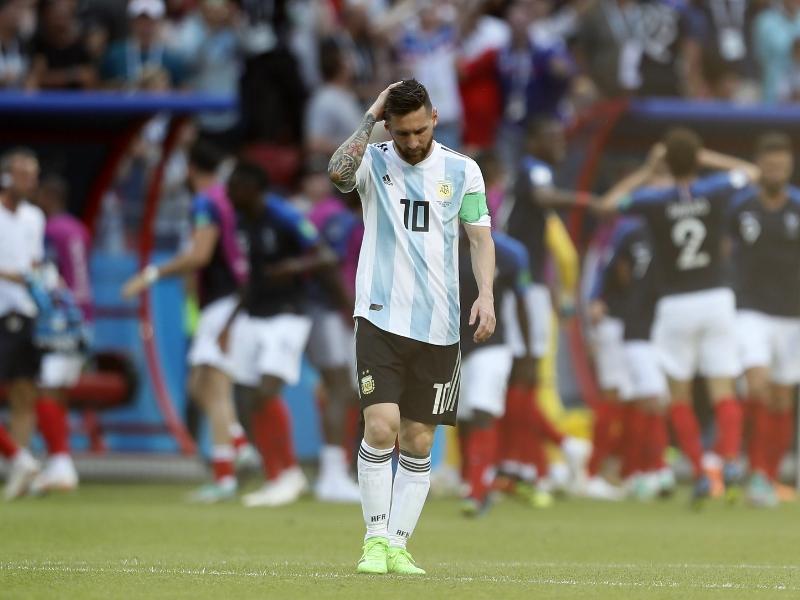 Messi no jugará contra México