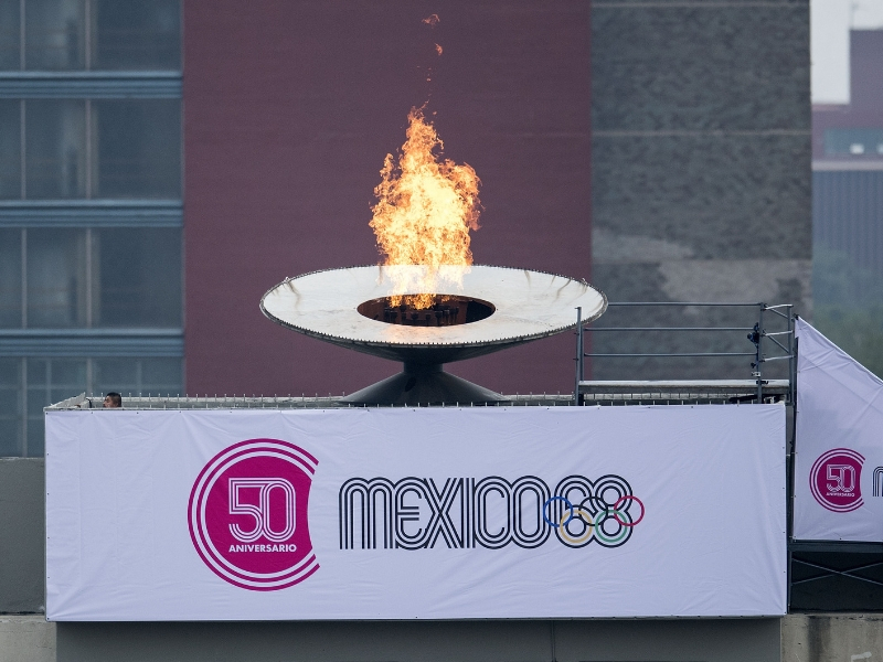 México 68: La flama olímpica vuelve a encender