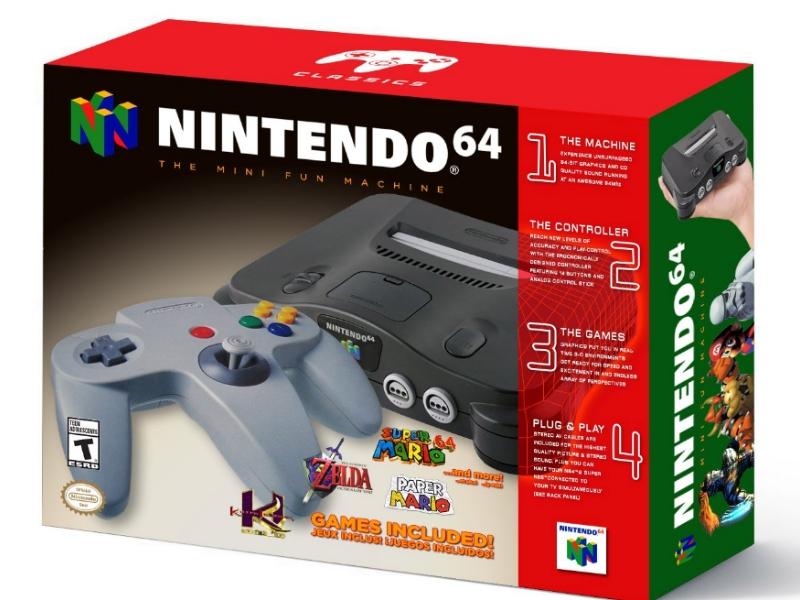 El Nintendo 64 regresará