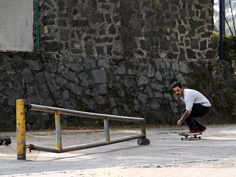 Max barrera busca sangre nueva en el skate.