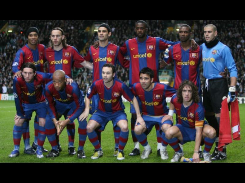 El Barça, gran dominador del fútbol español