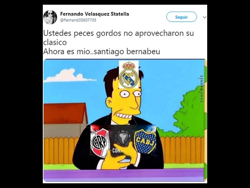 Memes de la final de la Libertadores en España