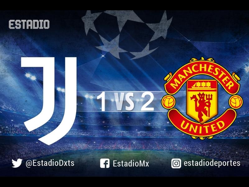 ¡Manchester United saca tres puntos del Juventus Stadium!
