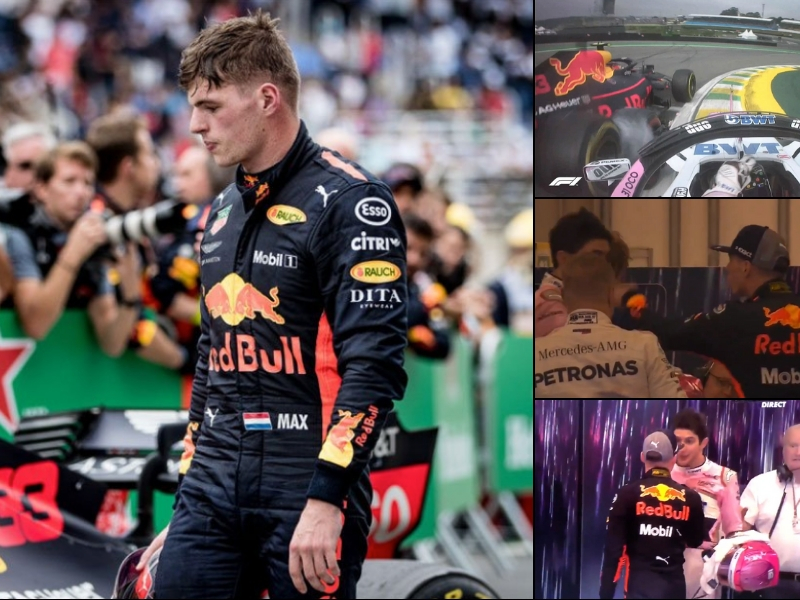 F1 castiga a Verstappen por pelea con Ocon
