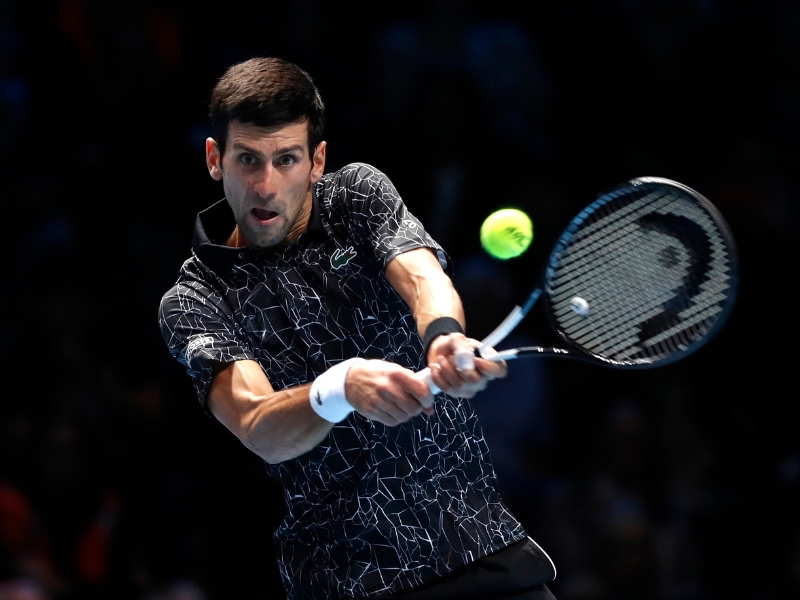 Djokovic, a un paso de las semifinales de Londres