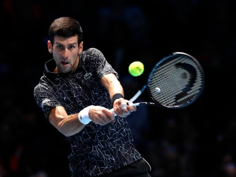 Djokovic arrasa con Anderson y accede a la final de Londres