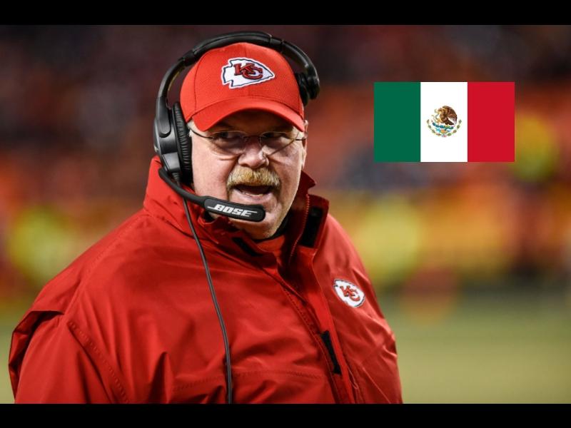 Head coach de los Chiefs asegura que la NFL volverá a México