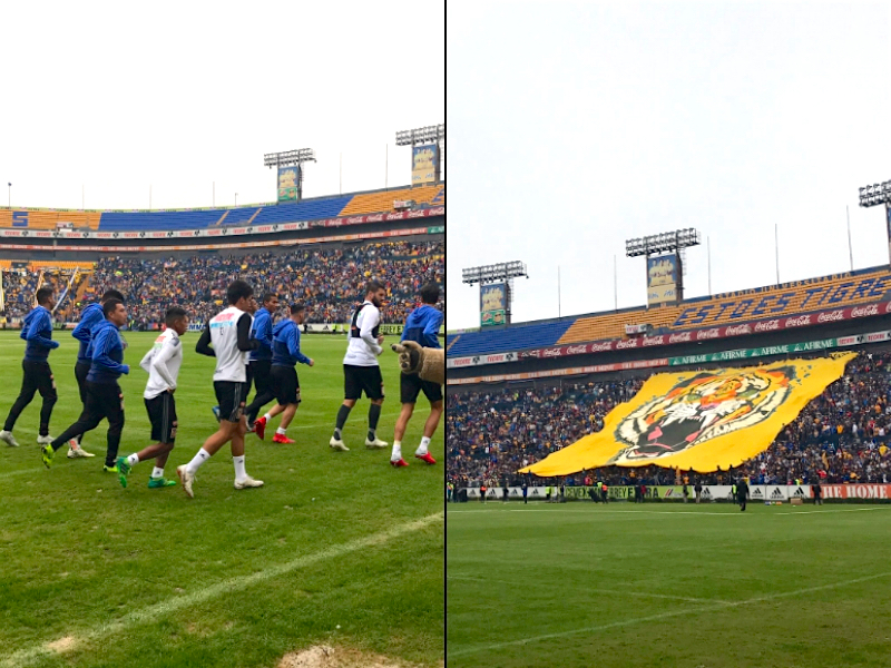 "VIDEO: ""Incomparable"" entrenamiento de Tigres en el Universitario"