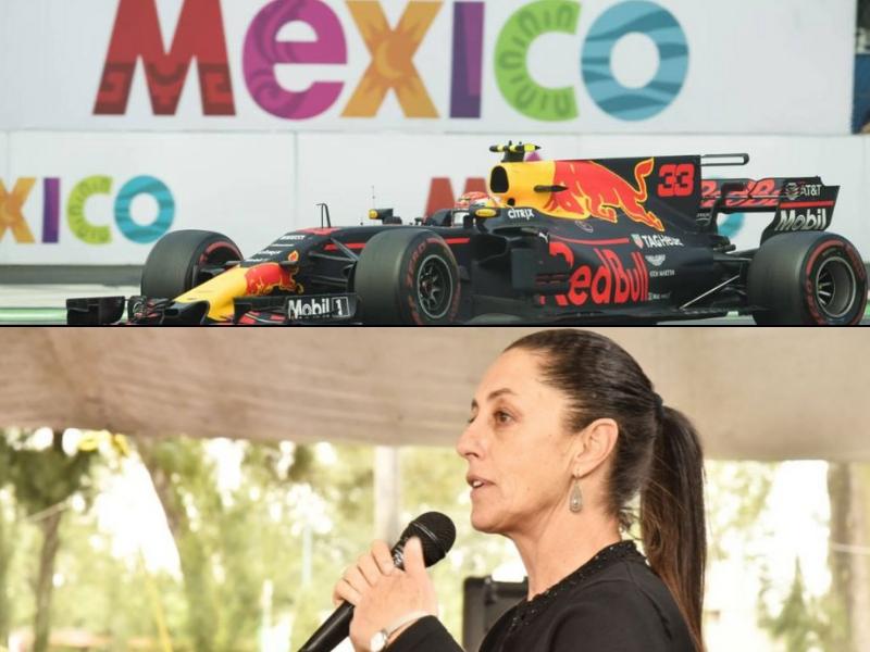 Claudia Sheinbaum estudiará continuidad de la F1 en México