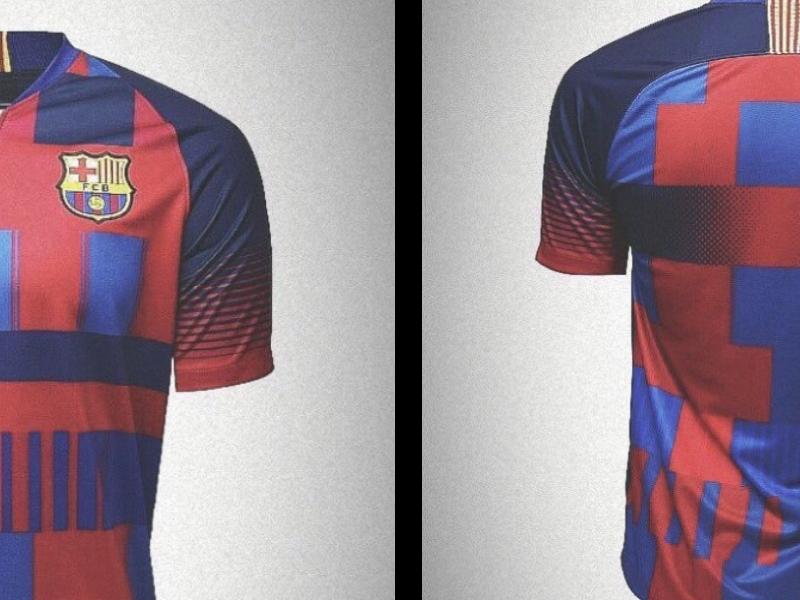 El kit edición especial por 20 aniversario de Nike con Barcelona