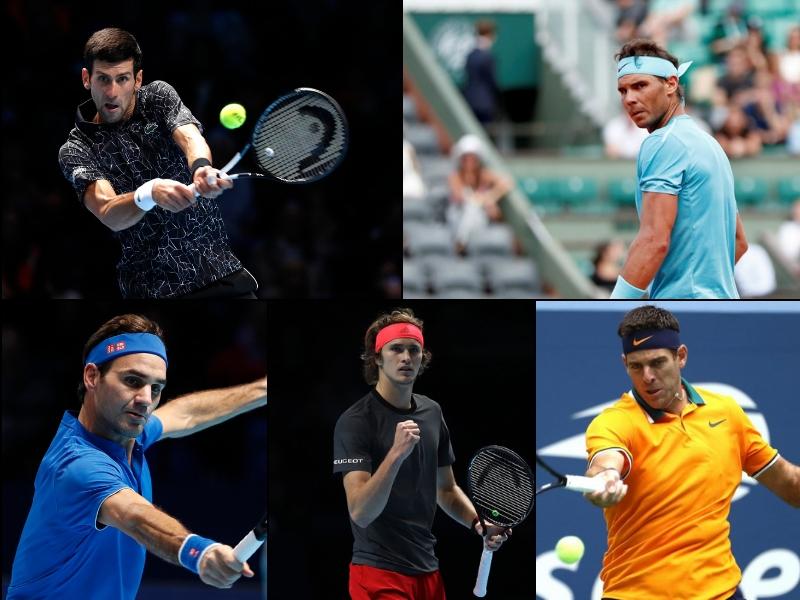 Así concluirá el ranking de la ATP del 2018