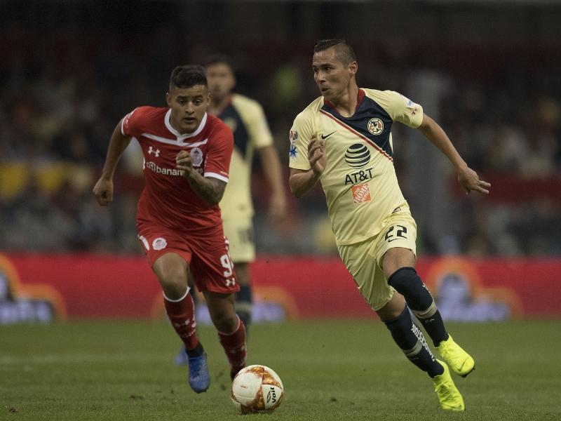 ¡América compromete liderato con empate vs Toluca!
