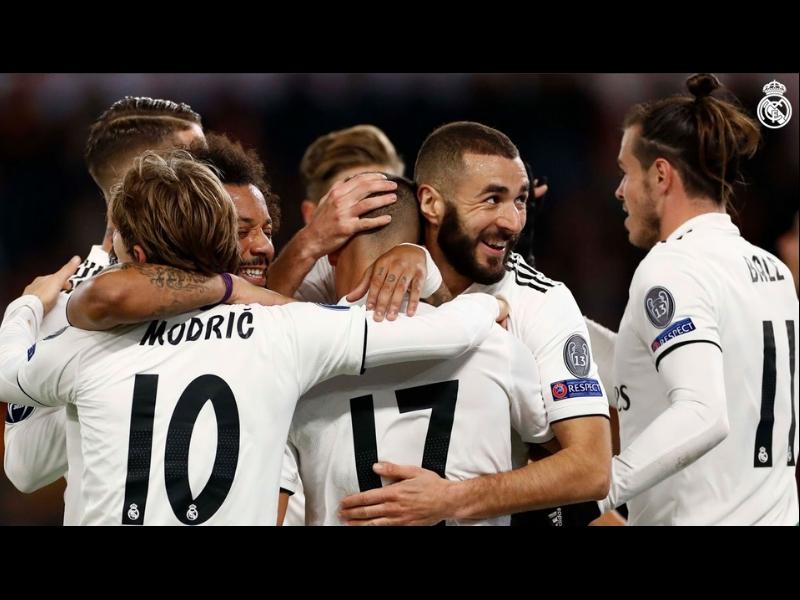 ¡Real Madrid vence a la Roma y es líder del Grupo G!