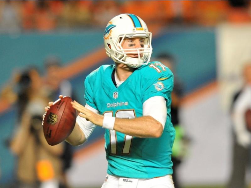 Ryan Tannehill, descartado por los Miami Dolphins