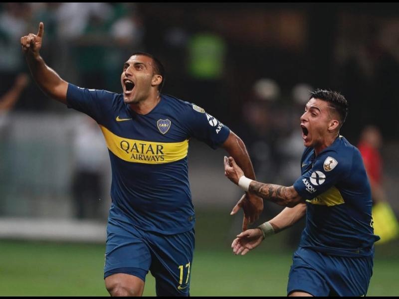 Boca ya tiene playera de campeón de la Libertadores