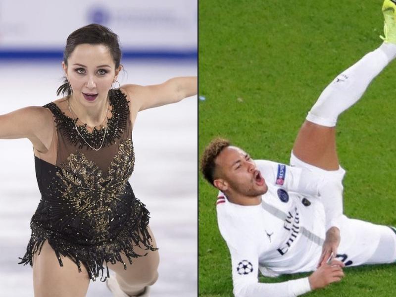 Patinadora Rusa se burló de Neymar