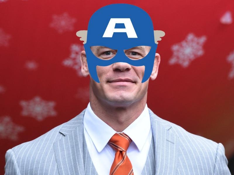 ¿John Cena el nuevo Capitán América?