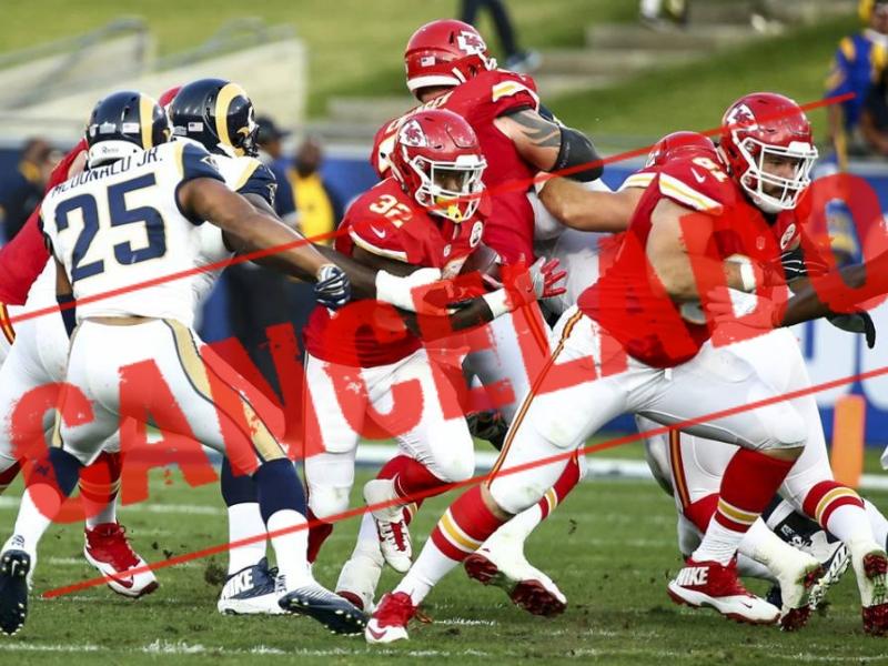 NFL Cancela juego de Rams vs Chiefs en México
