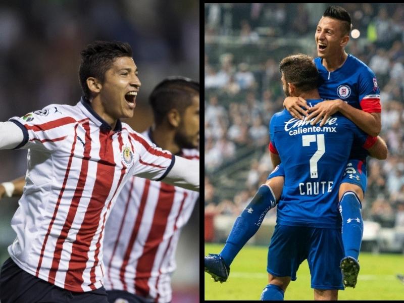 Chivas y Cruz Azul preparan su primer refuerzo para el CL19