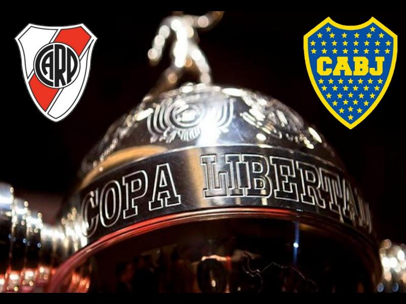 Presentan el balón de la final de la Copa Libertadores