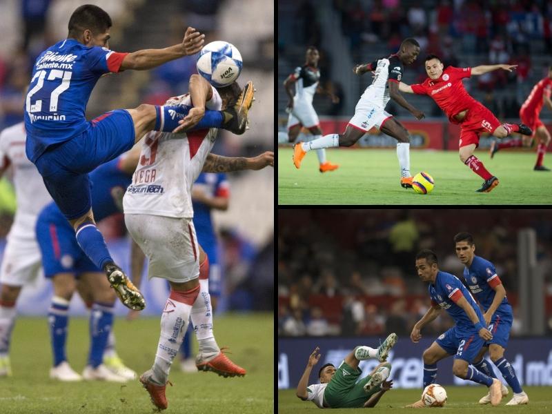 ¡Cruz Azul y Toluca son los equipos más cochinos!