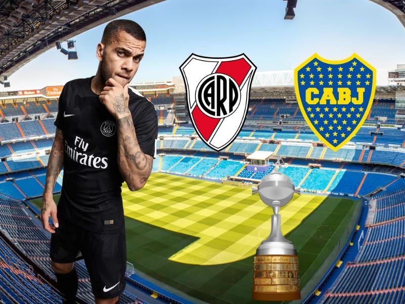 El mensaje de Dani Alves por la final de Copa Libertadores
