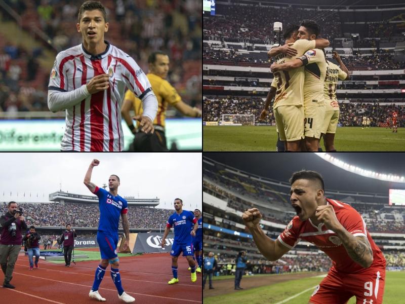 Horario y dónde ver la jornada 16 del Apertura 2018