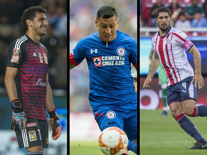Los 28 amos de la Liga MX